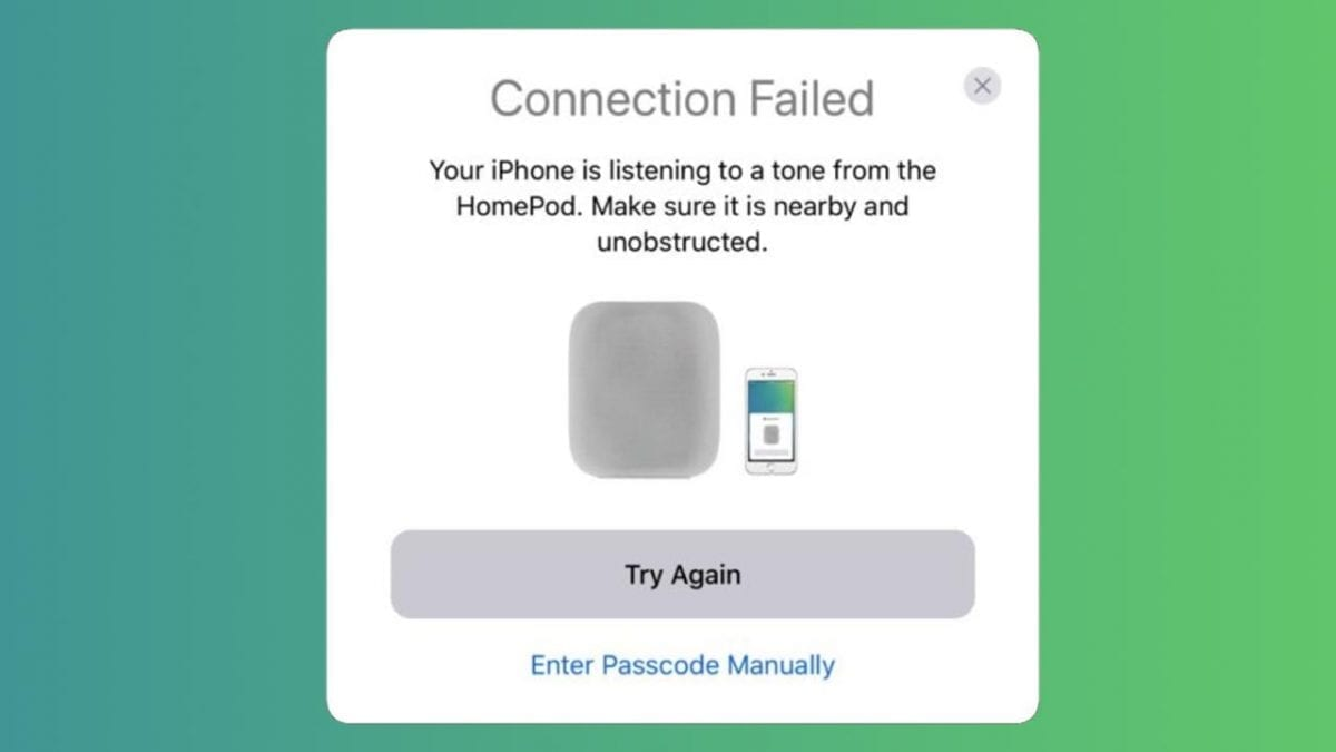Apple HomePod Pairing with Unique Audio Tones
