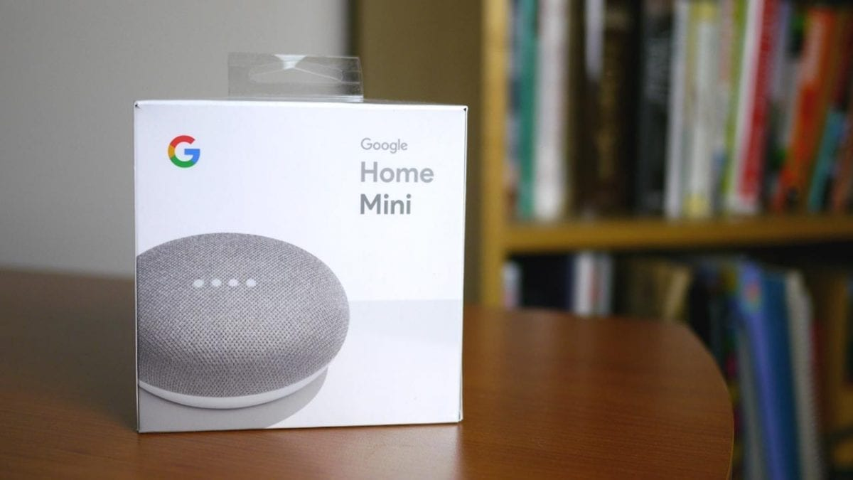 Megatech Videos Google Home Mini Unboxing And First