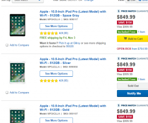 iPad Pro Models up to $150 Off at Best Buy