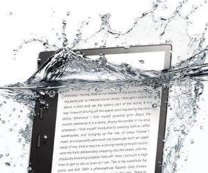 The New Kindle Oasis (2017) Is Waterproof