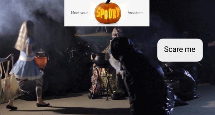 Google Assistant Gets Spooky for Halloween