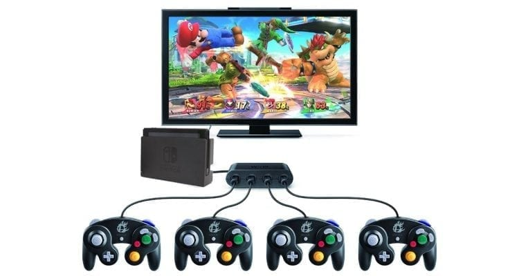 GameCube Controllers on Nintendo Switch? Here Comes Smash Deluxe!
