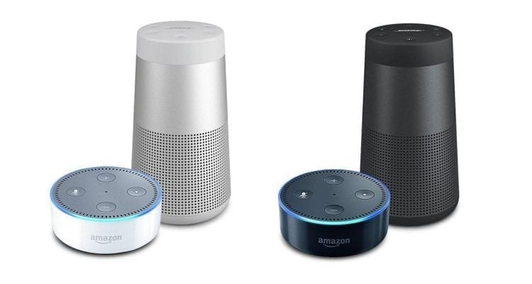 Buy a Bose SoundLink Revolve, Get a Free Echo Dot