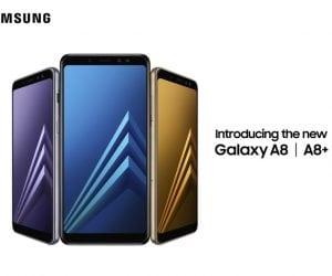 Samsung Announces the Galaxy A8 and Galaxy A8+ 2018 Models