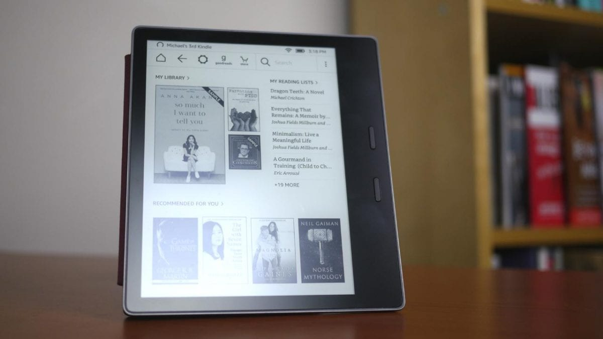 MEGATech Reviews: Amazon Kindle Oasis 7-Inch (2017) E-Reader