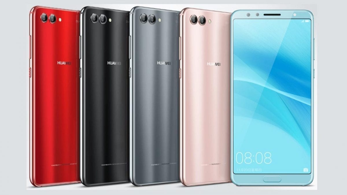 Huawei Nova 2S Is Almost All-Screen, Dual Front Cameras