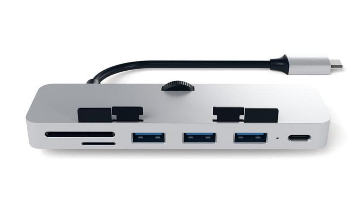 Satechi Clamp Hub Pro Introduces Dongle Life to New iMac Pro