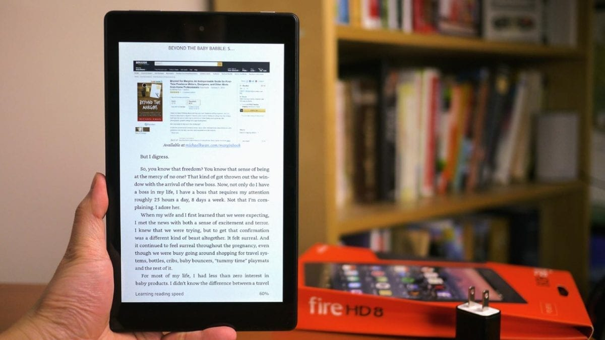 MEGATech Reviews: Amazon Fire HD 8 Tablet