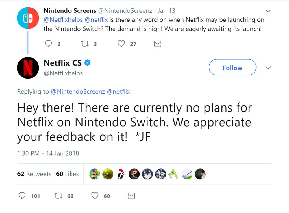 Netflix App for Nintendo Switch Isn't Coming Any Time Soon (Or Is It?)