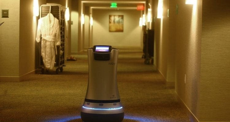 These Relay Robots Can Bring Hotel Guests Items and Will Soon Tell Jokes