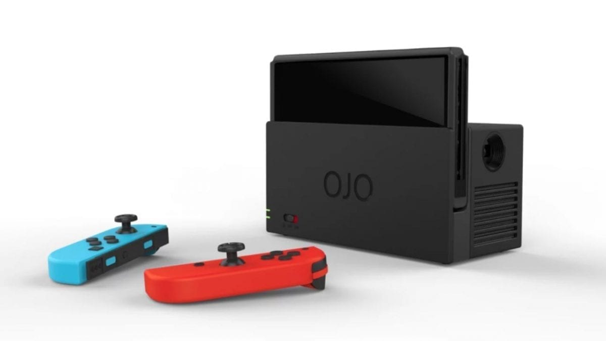 YesOJO Switch Projector Dock Delivers Portable Big Screen Gaming