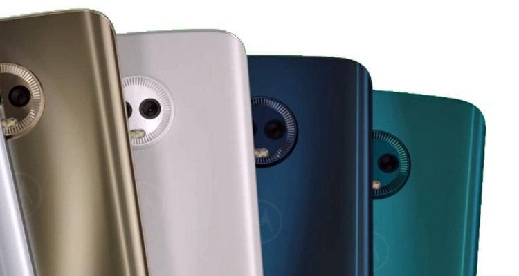 MWC 2018: Look How Colorful the Moto G6 Plus Is!