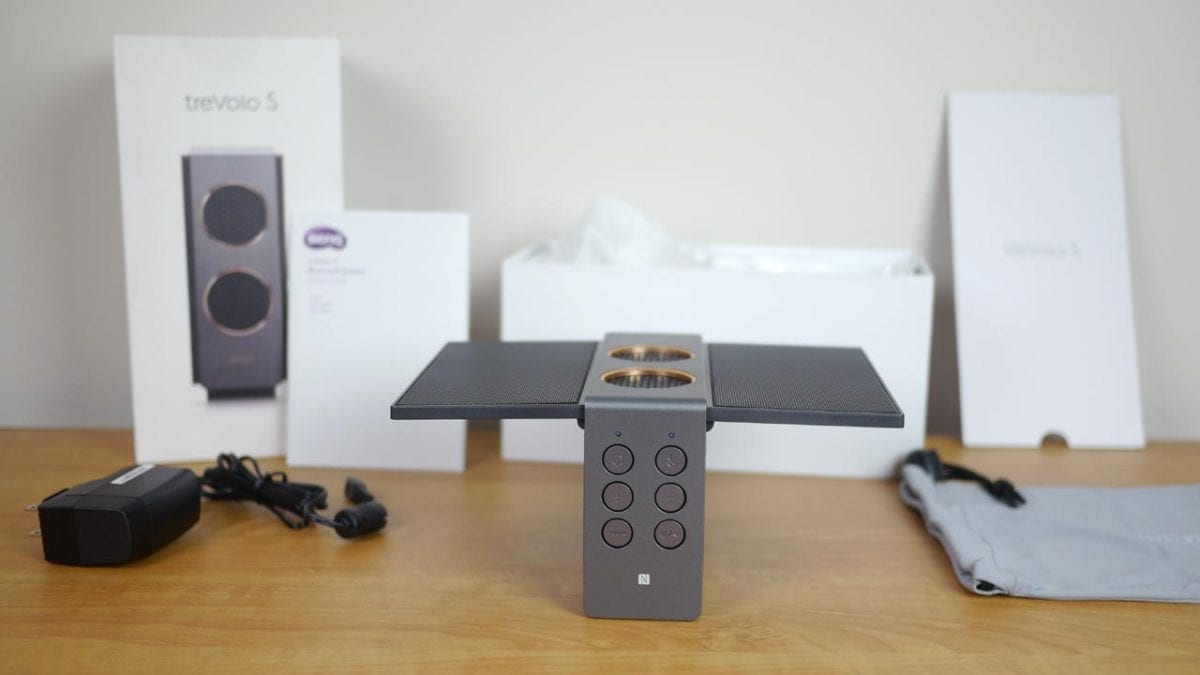 MEGATech Reviews: BenQ treVolo S Electrostatic Bluetooth Speaker