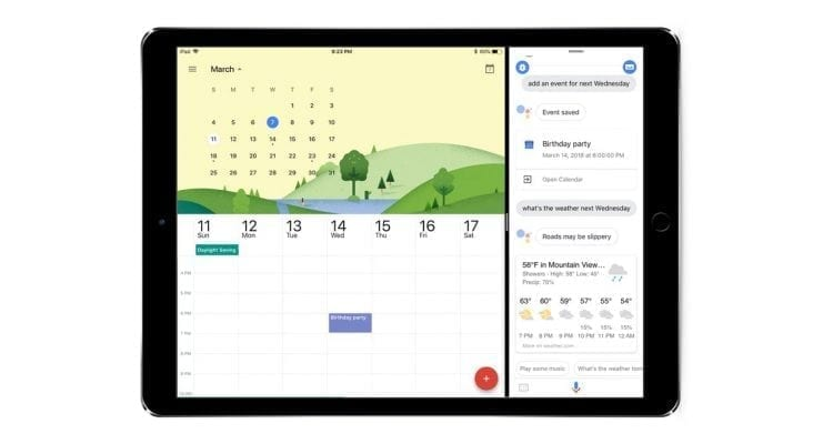Google Assistant on iPad Has Arrived (With Multitasking Too)