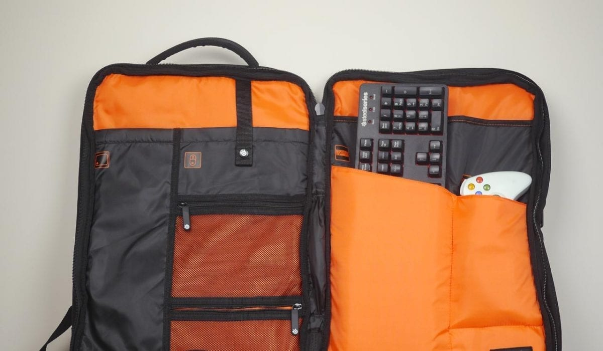 MEGATech Reviews: Targus X SteelSeries Sniper Gaming Backpack
