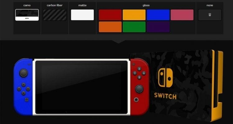 Dbrand Skins for Nintendo Switch Now Available