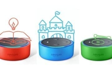 Amazon Echo Dot Kids Edition with FreeTime Unlimited