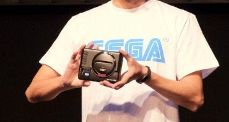 Official Sega Genesis Mini Console in the Works