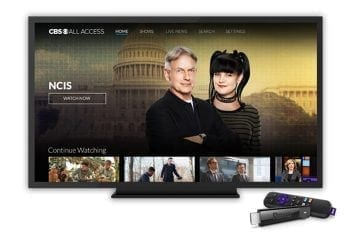 Roku Adds CBS All Access for Canadians