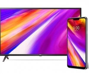 Pre-Order LG G7 ThinQ, Get Free 43-Inch UHD Smart TV