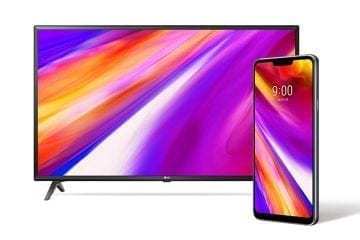 Pre-Order LG G7 ThinQ, Get Free 43-Inch UHD Smart TV