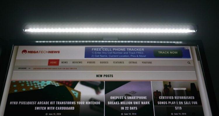 MEGATech Reviews: BenQ ScreenBar e-Reading Lamp