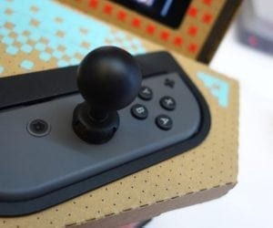 Nyko PixelQuest Arcade Kit Transforms Your Nintendo Switch With Cardboard