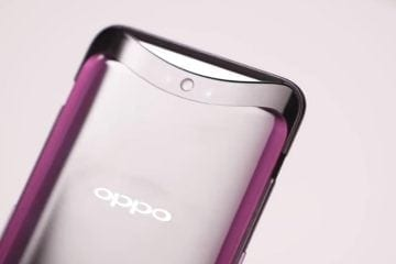Oppo Find X Boasts Motorized Pop-Up Cameras, Ditches Notch