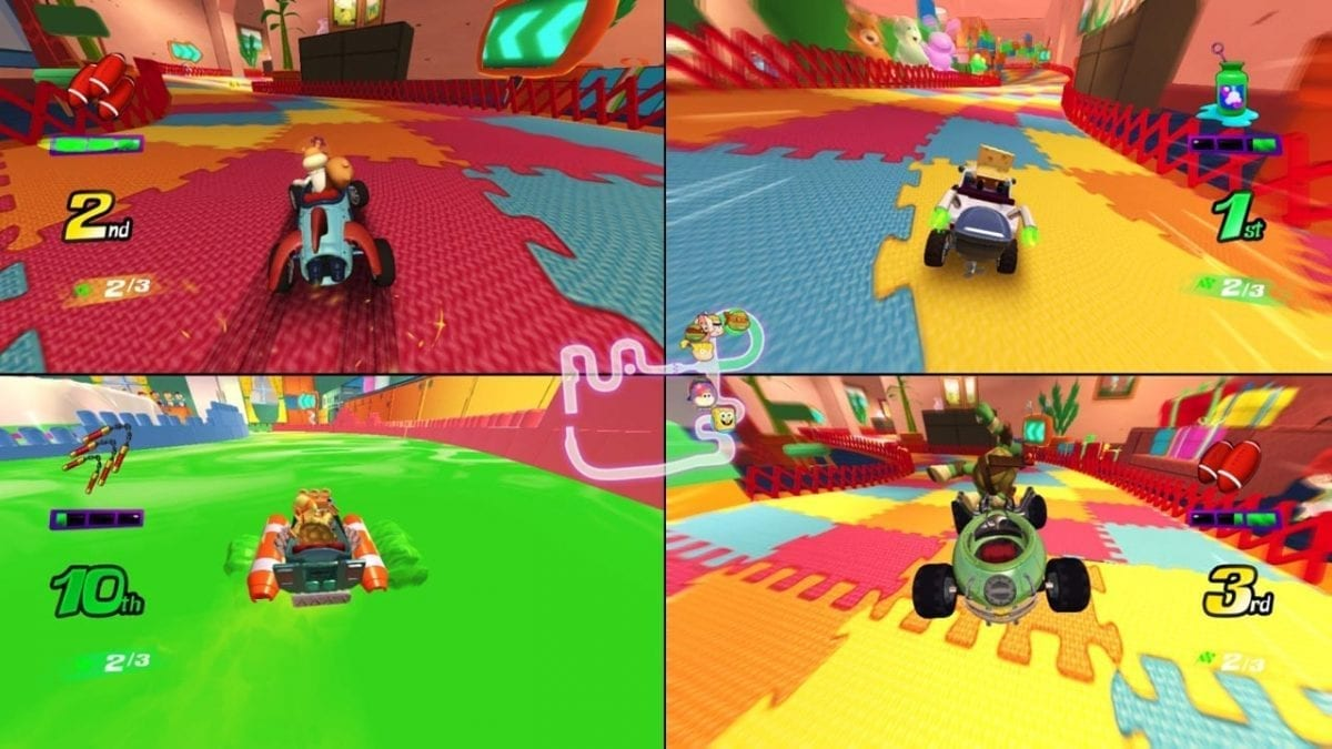 Nickelodeon Kart Racers Drifting to Consoles This October