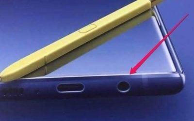 Yup, the Galaxy Note 9 Still Has a Headphone Jack!