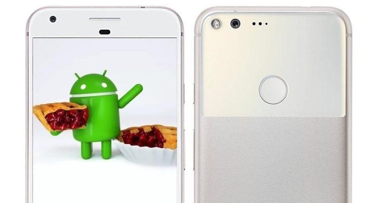 Android Pie on Google Pixel