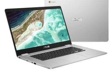 Here's the 15-inch Asus Chromebook C523