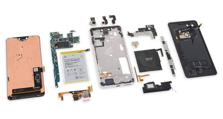 Pixel 3 XL Has a Samsung Screen (iFixit)