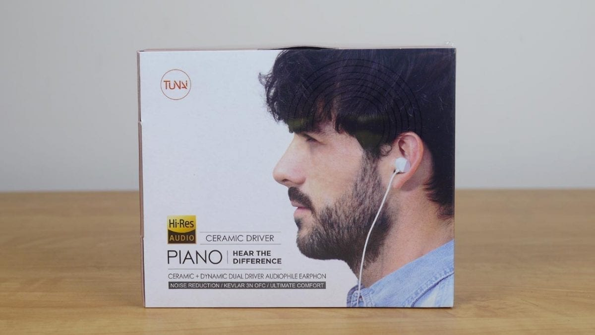MEGATech Reviews: Tunai Piano Ceramic Dual Driver Earphones