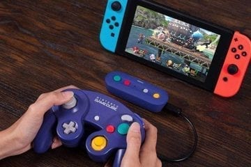 Wireless Adapter to Use GameCube Controllers on Nintendo Switch